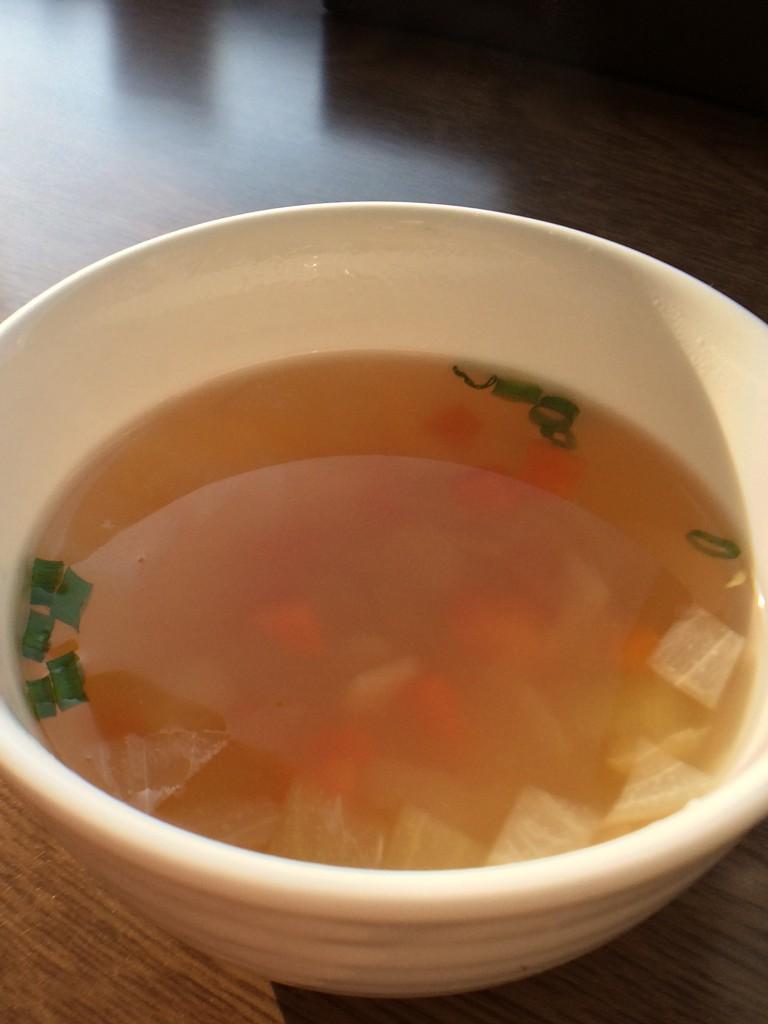 コンソメ春雨スープ