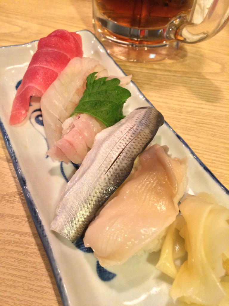 おまかせお寿司5貫