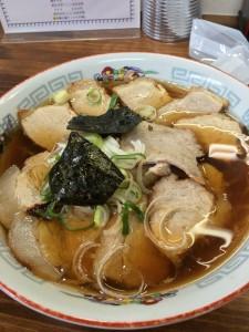 三栄軒醤油チャーシュー麺