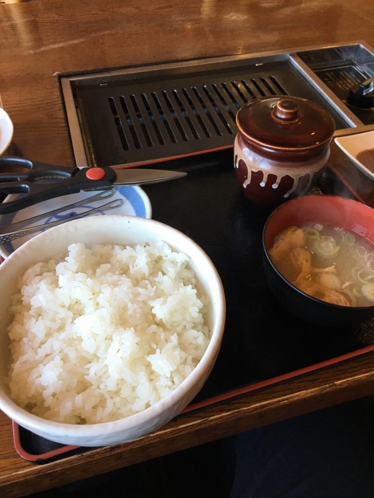 つぼ漬けジンギスカン定食