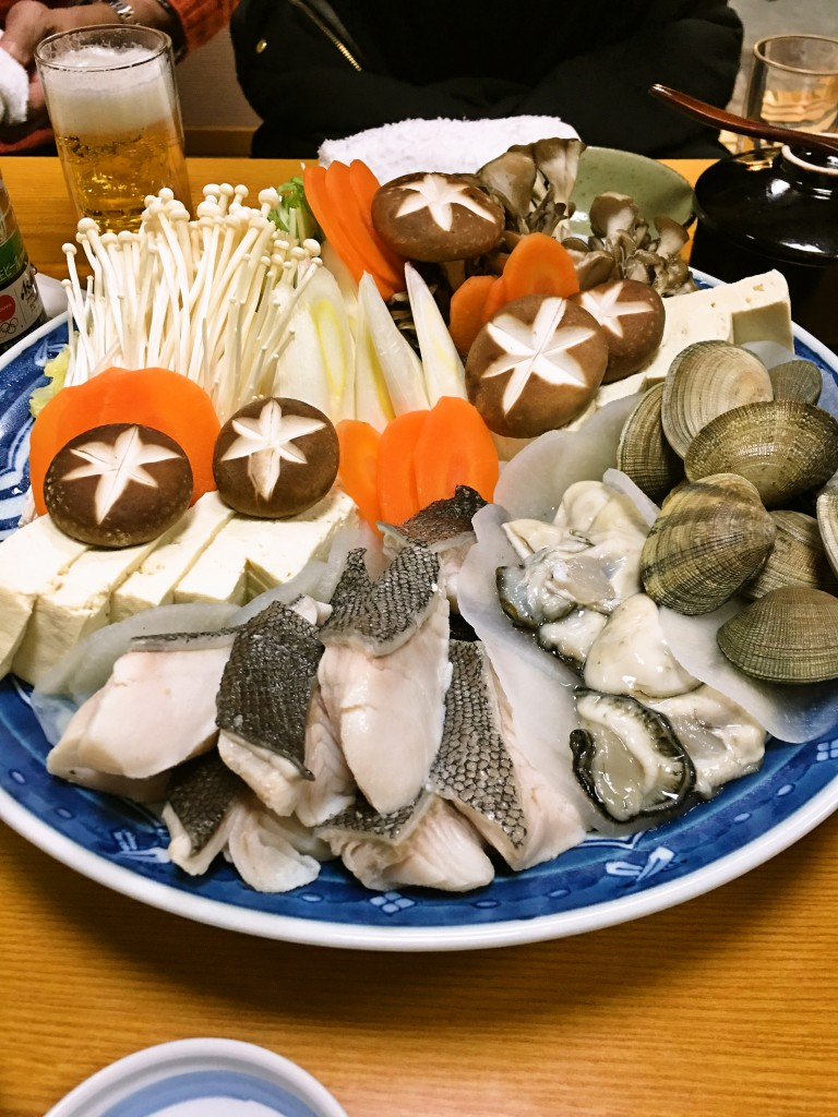 釧路お寿司千歳鮨宴会コース 鍋料理