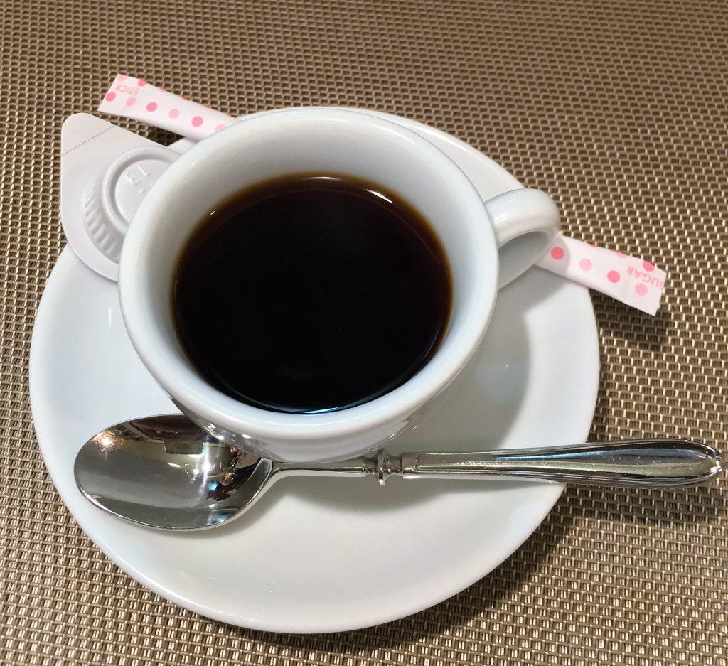 芳醇な香りのコーヒー