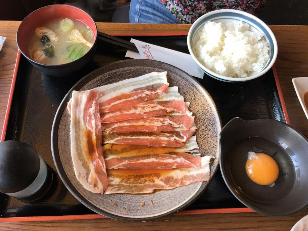 豚すき焼き定食