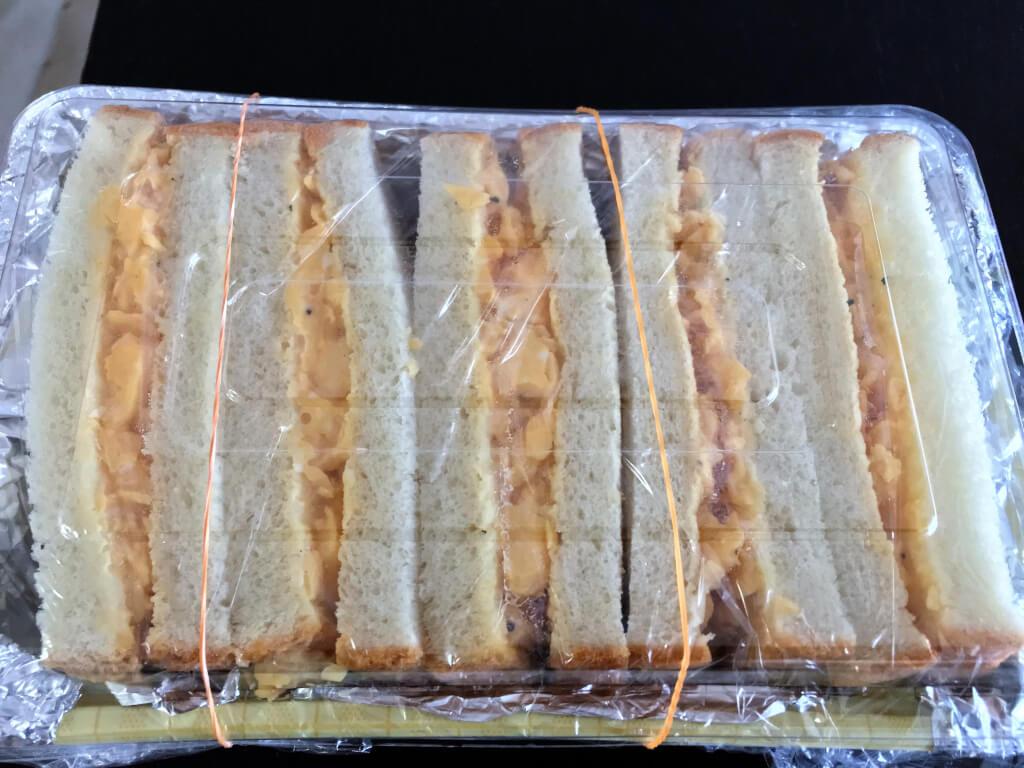 嫁のサンドイッチ
