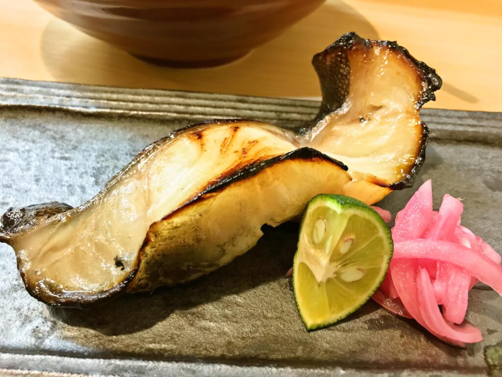 おまかせ10品コース焼き魚