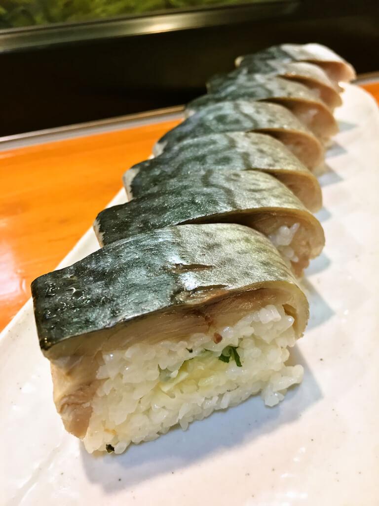 サバの棒寿司