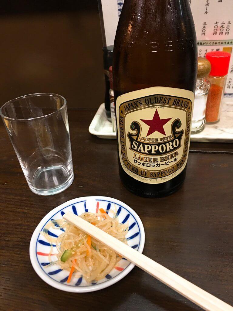 金富士本店ビール500円