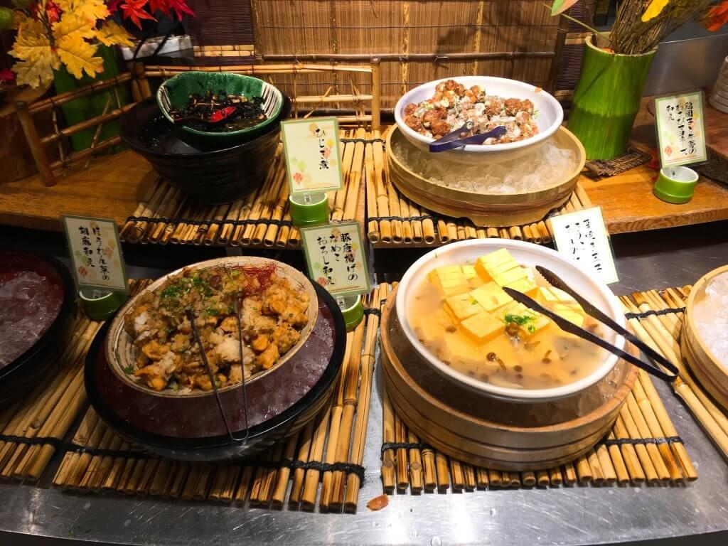 ザ・ブッフェ 大丸札幌休日ディナーブッフェ 和食料理