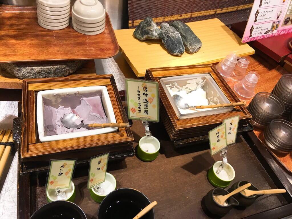 ザ・ブッフェ 大丸札幌休日ディナーブッフェ 自家製豆腐