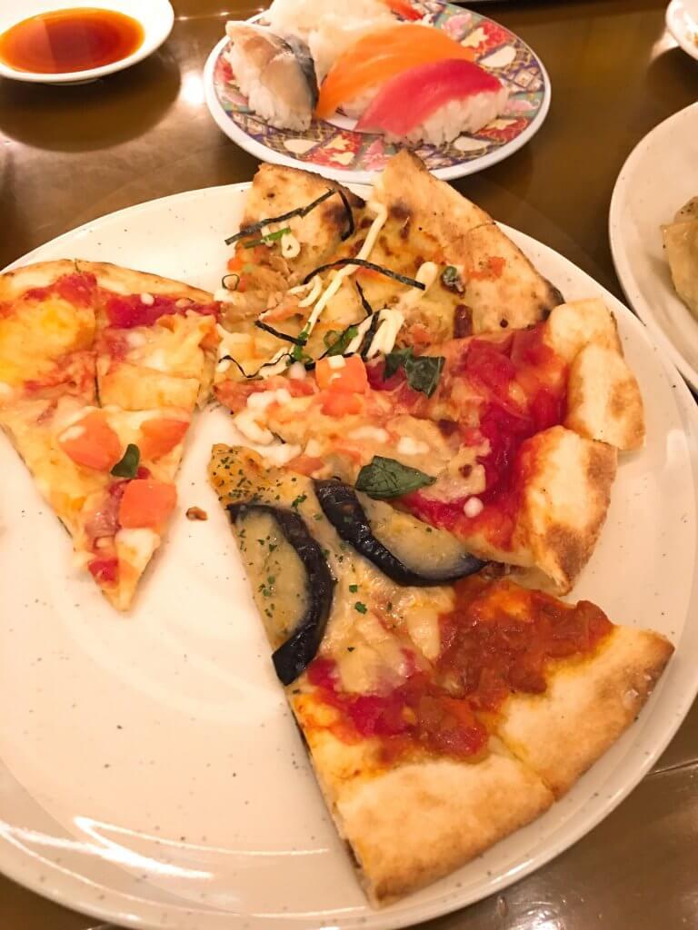 ザ・ブッフェ 大丸札幌休日ディナーブッフェ ピザ