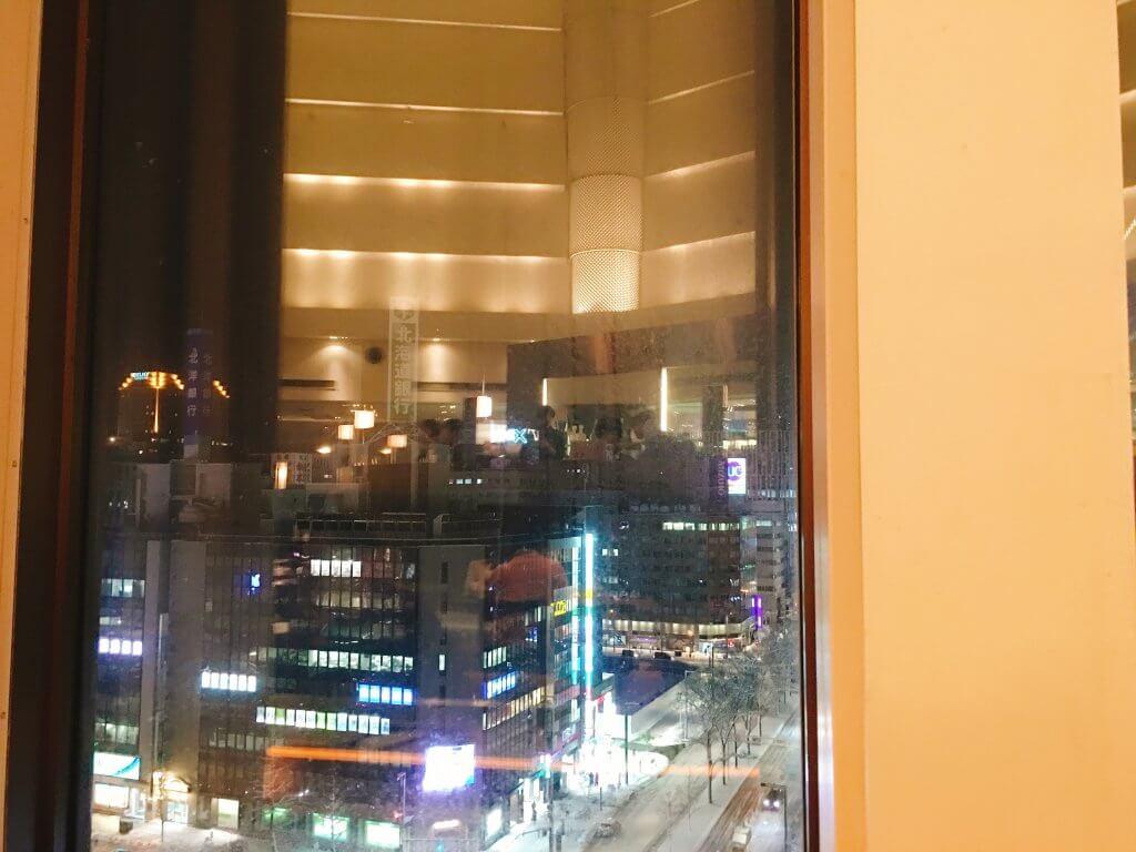 ザ・ブッフェ 大丸札幌休日ディナーブッフェ 夜景