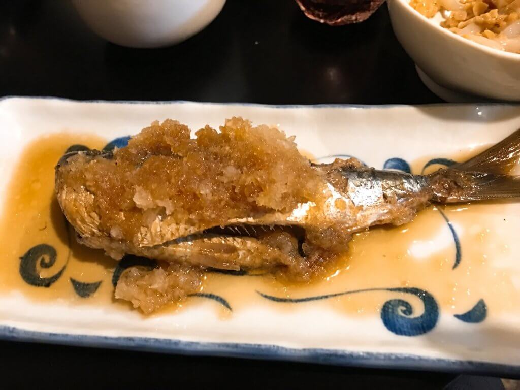 いわしの煮つけ50円