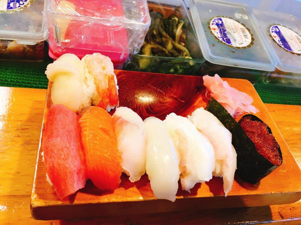 釧路吉江寿司ランチ握り700円