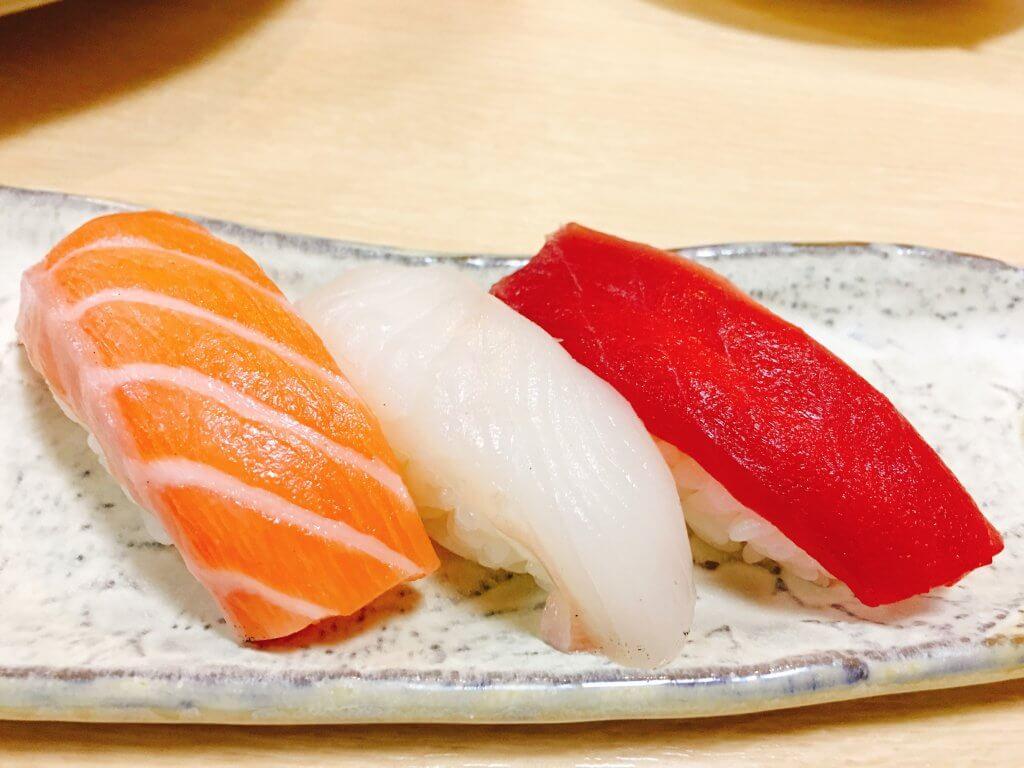 〆のお寿司