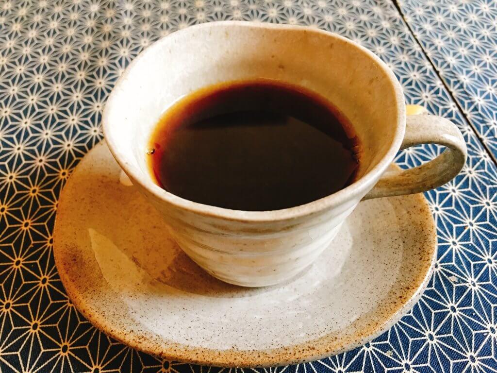 食前のコーヒー