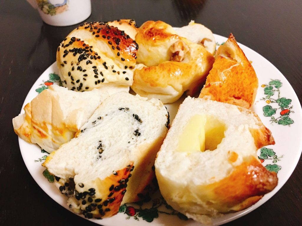 釧路食事処遊花の自家製パン