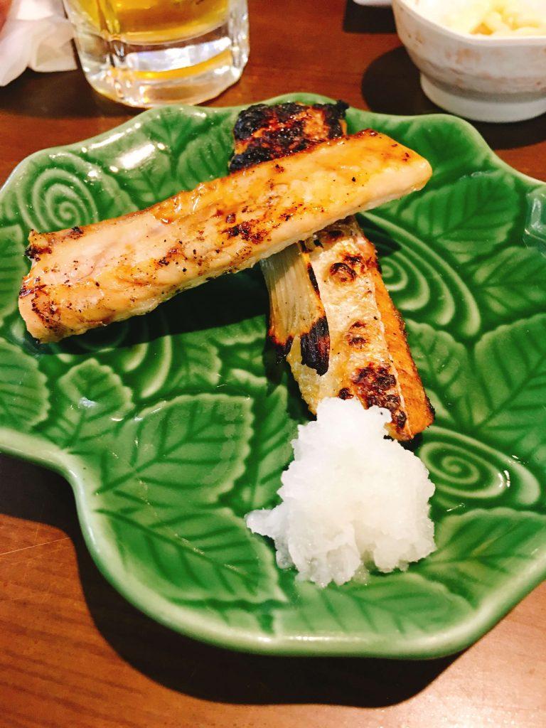 鮭ハラス焼き300円