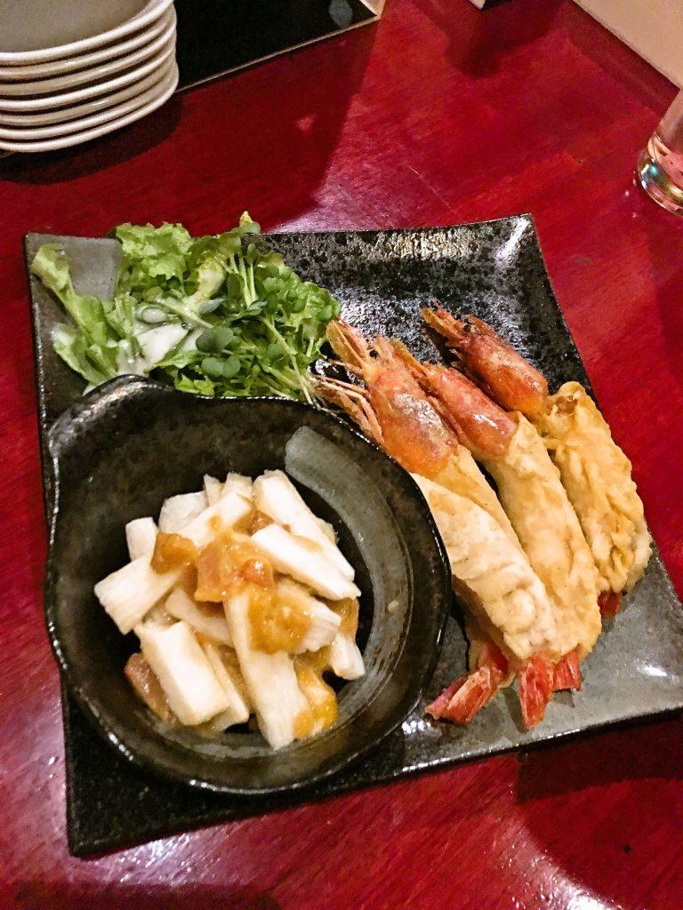 釧路餃子バー特別お通し