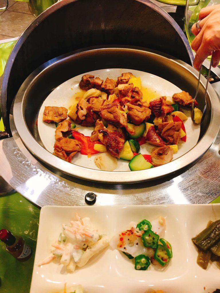 鶏と夏野菜の炒め物カレー風味