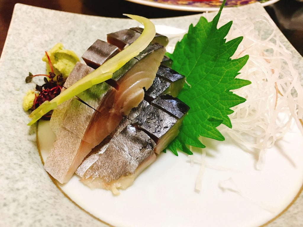 しめ鯖造り630円