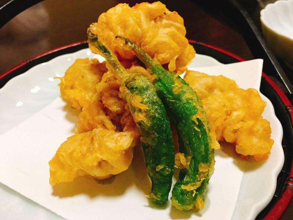 タチ天ぷら630円