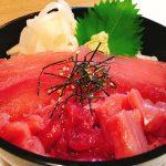 マグロ3色丼880円