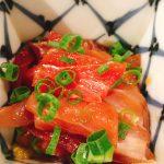 お刺身魚の漬け100円