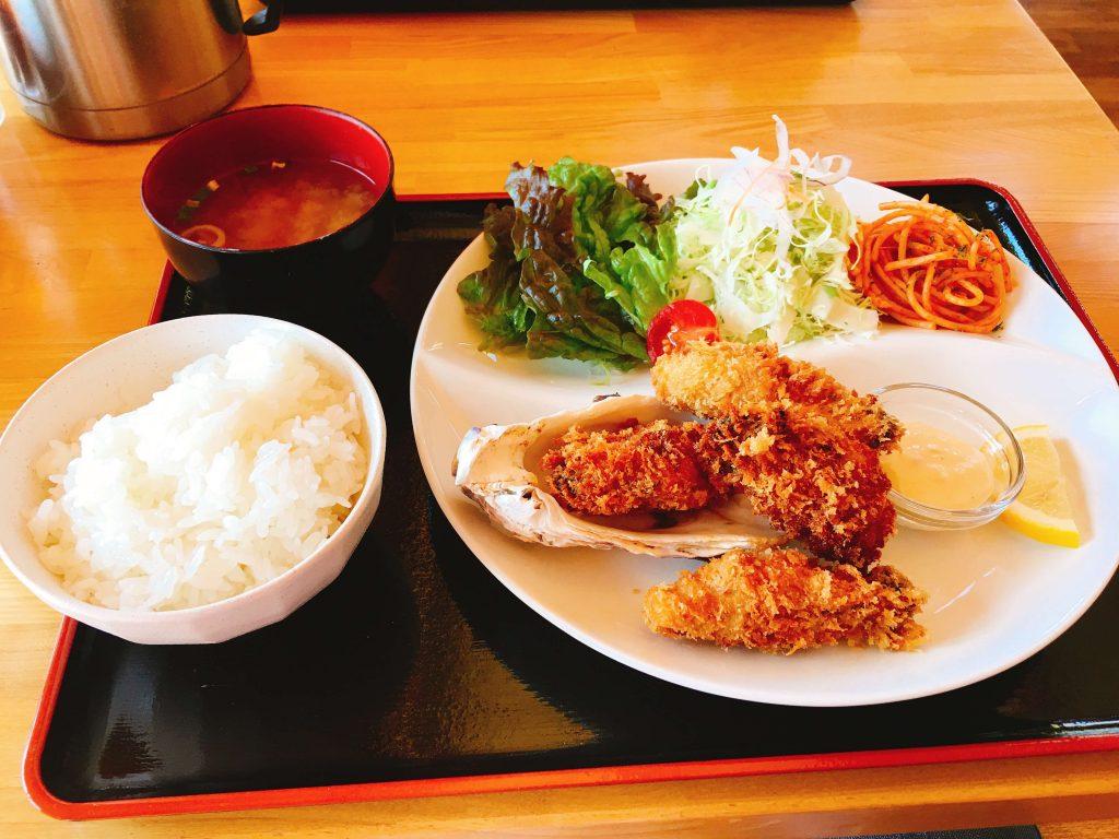 カキフライ定食1000円