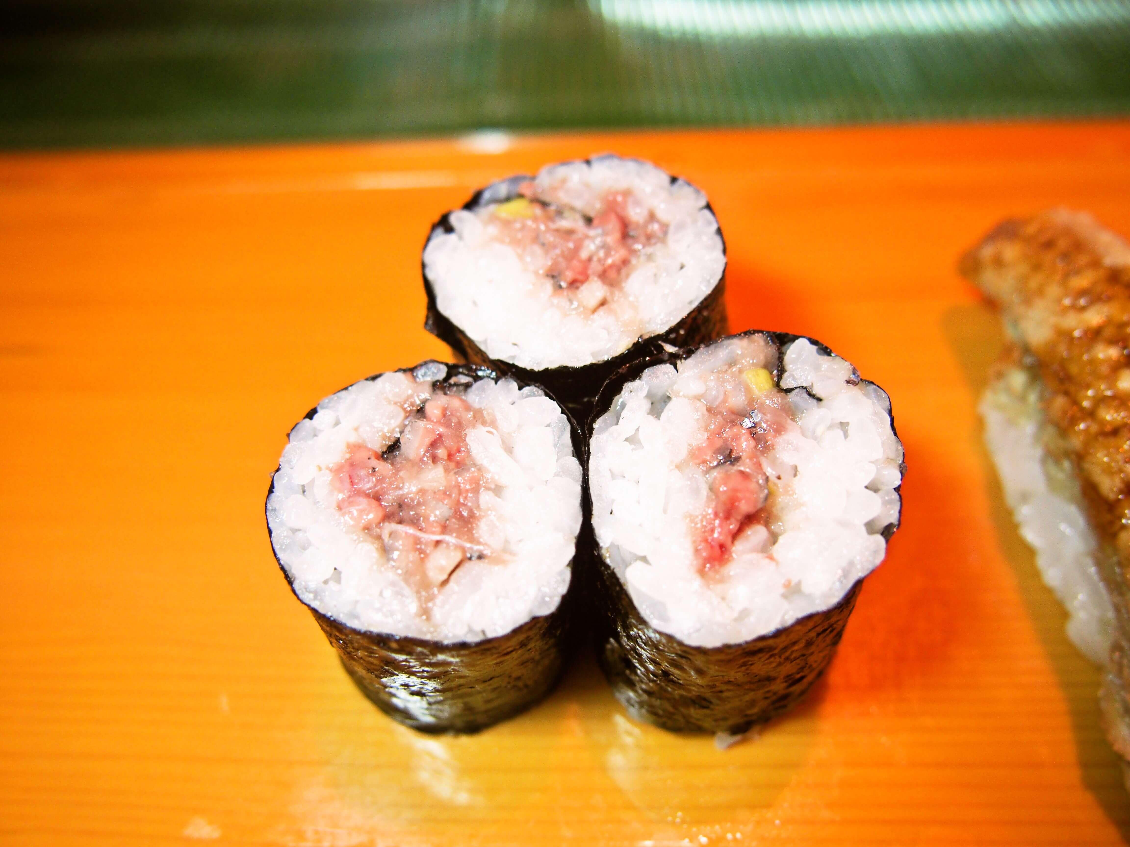 喜州寿司名物さんま巻