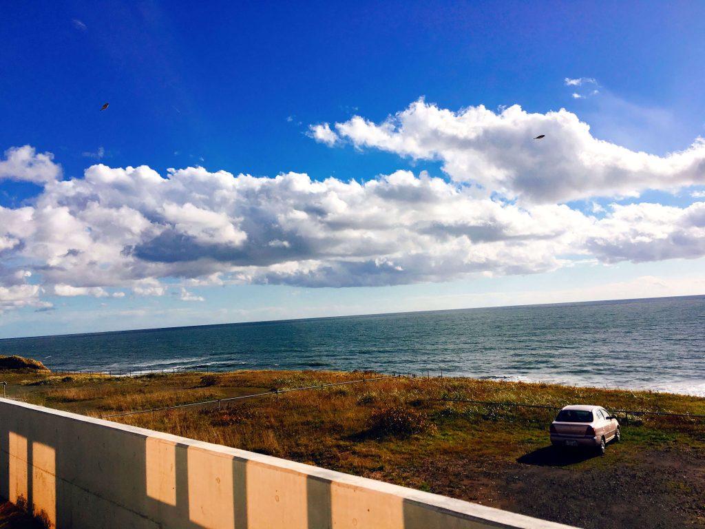 海あかり景色