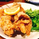 鶏の塩から揚げ500円