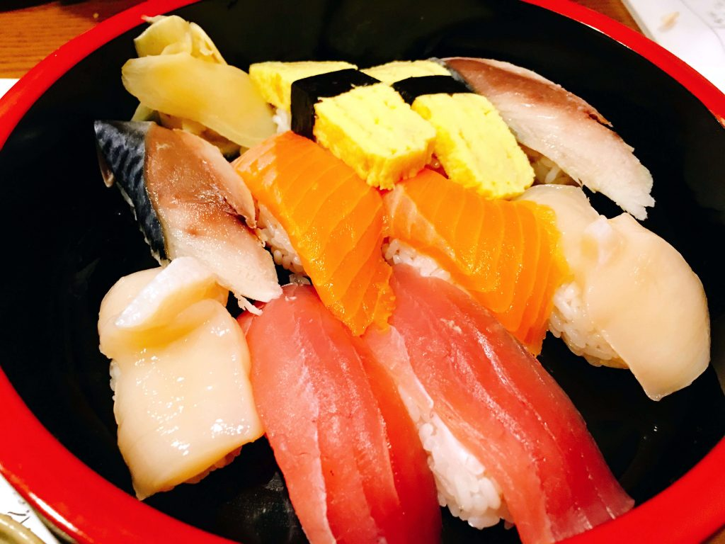 おまかせ寿司10貫1480円