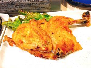 鶏半身揚げ