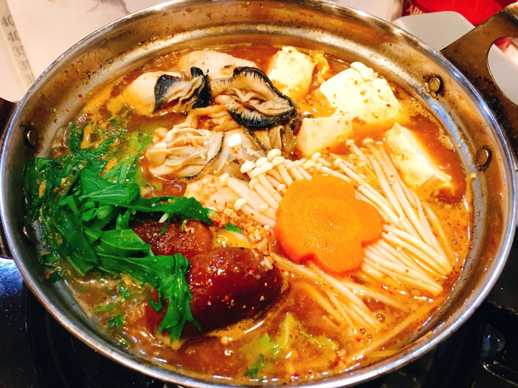 牡蠣鍋小(1人前)800円