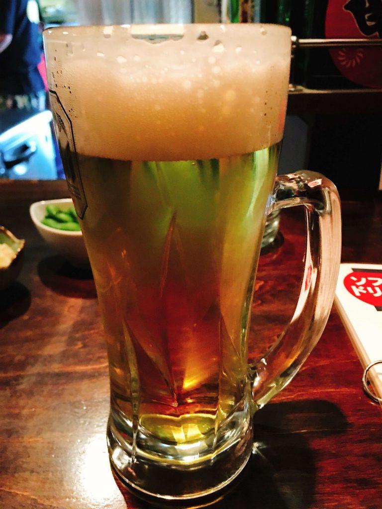 晩酌セット1000円ビール