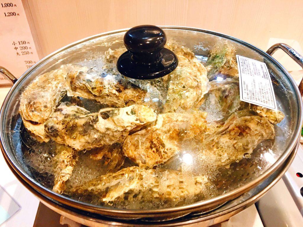 牡蠣食べ放題1500円
