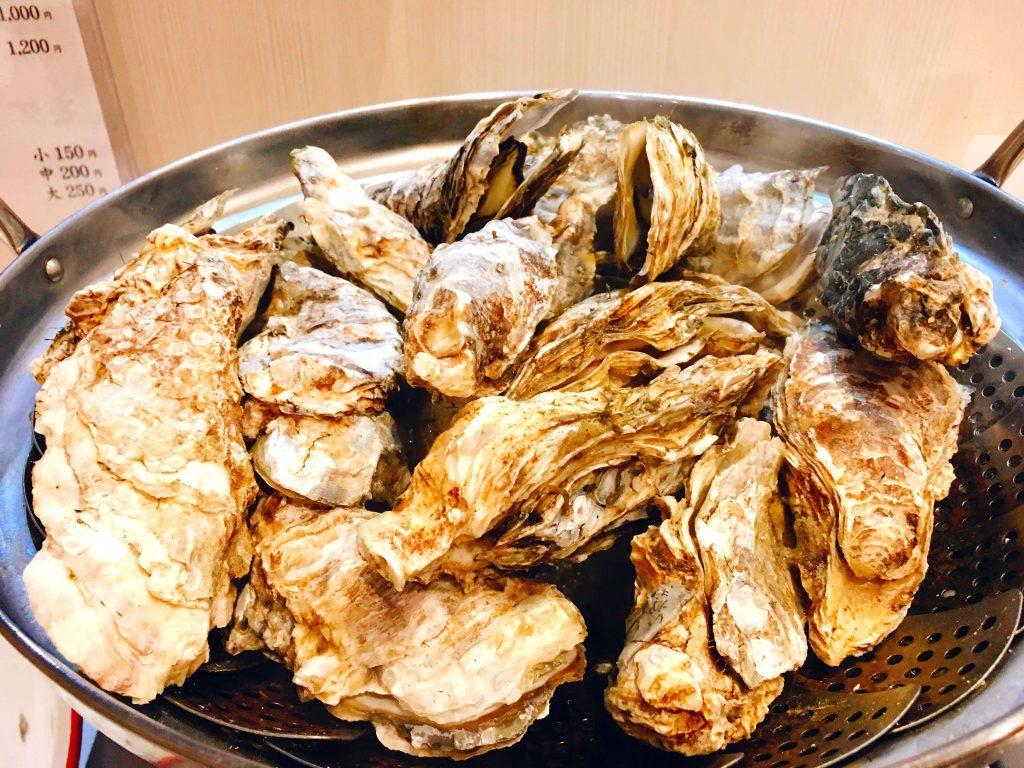 仙鳳趾産牡蠣