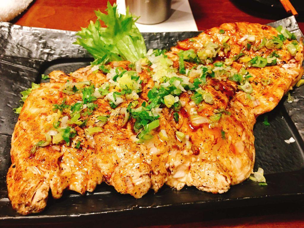 鶏むね肉大判焼980円