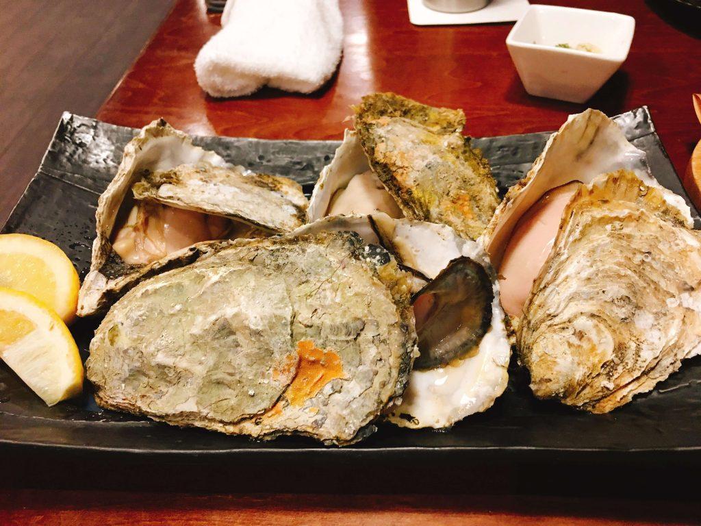 牡蠣1個190円
