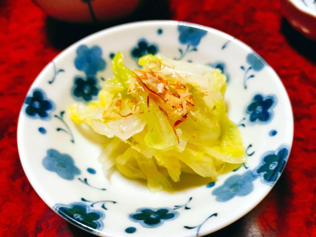 5品目白菜のおひたし