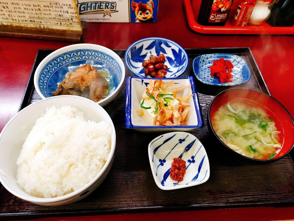 煮魚定食450円