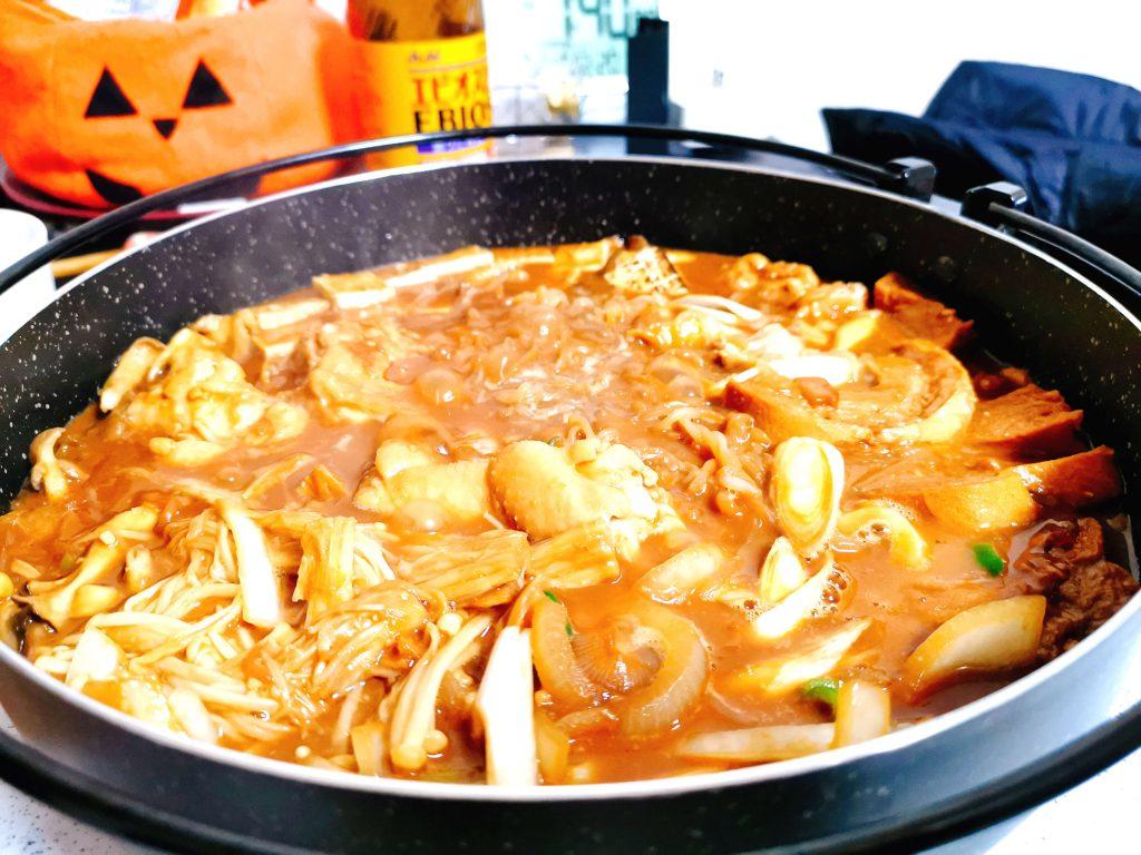 鶏味噌すき焼き