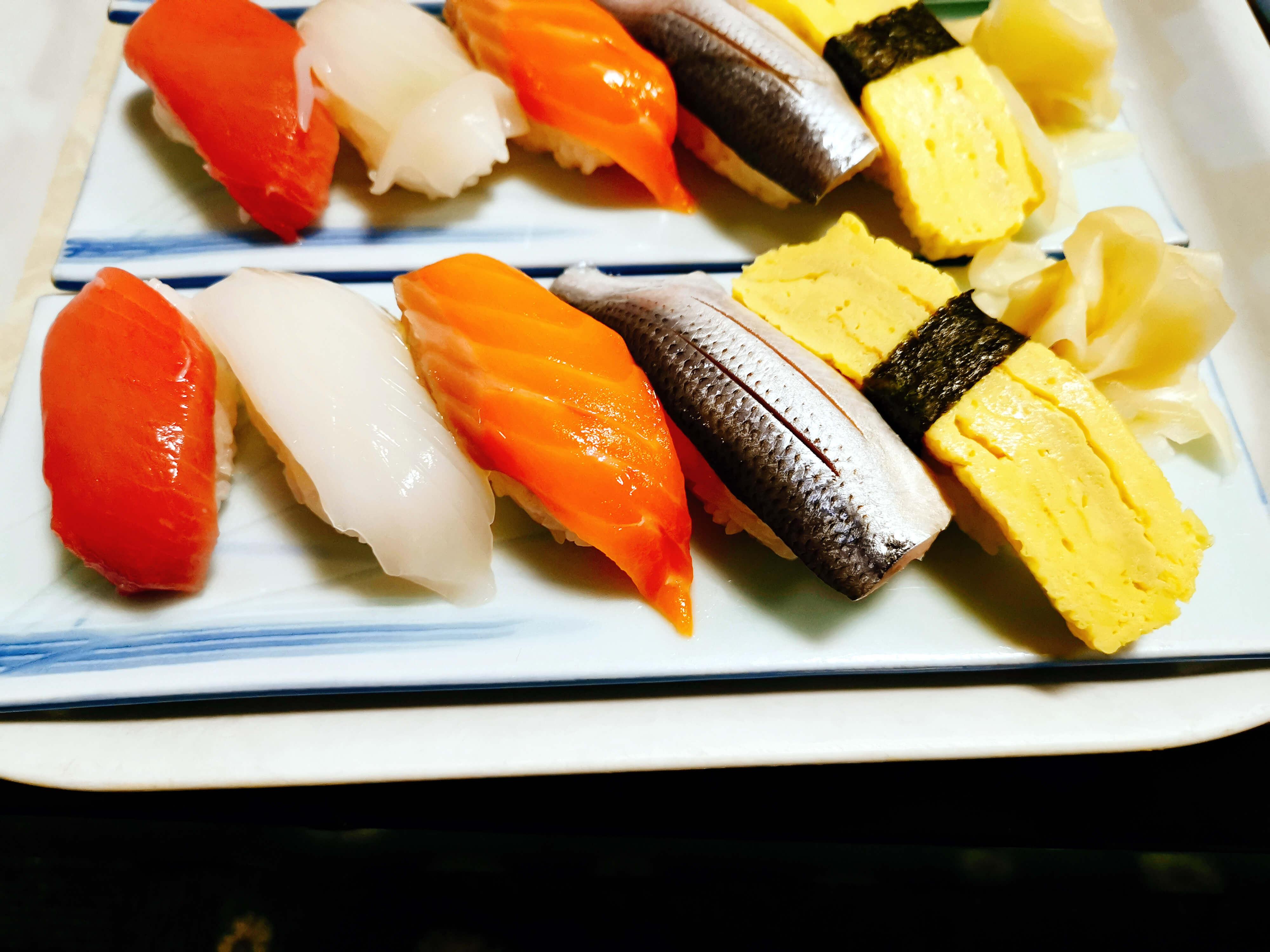握り寿司5貫