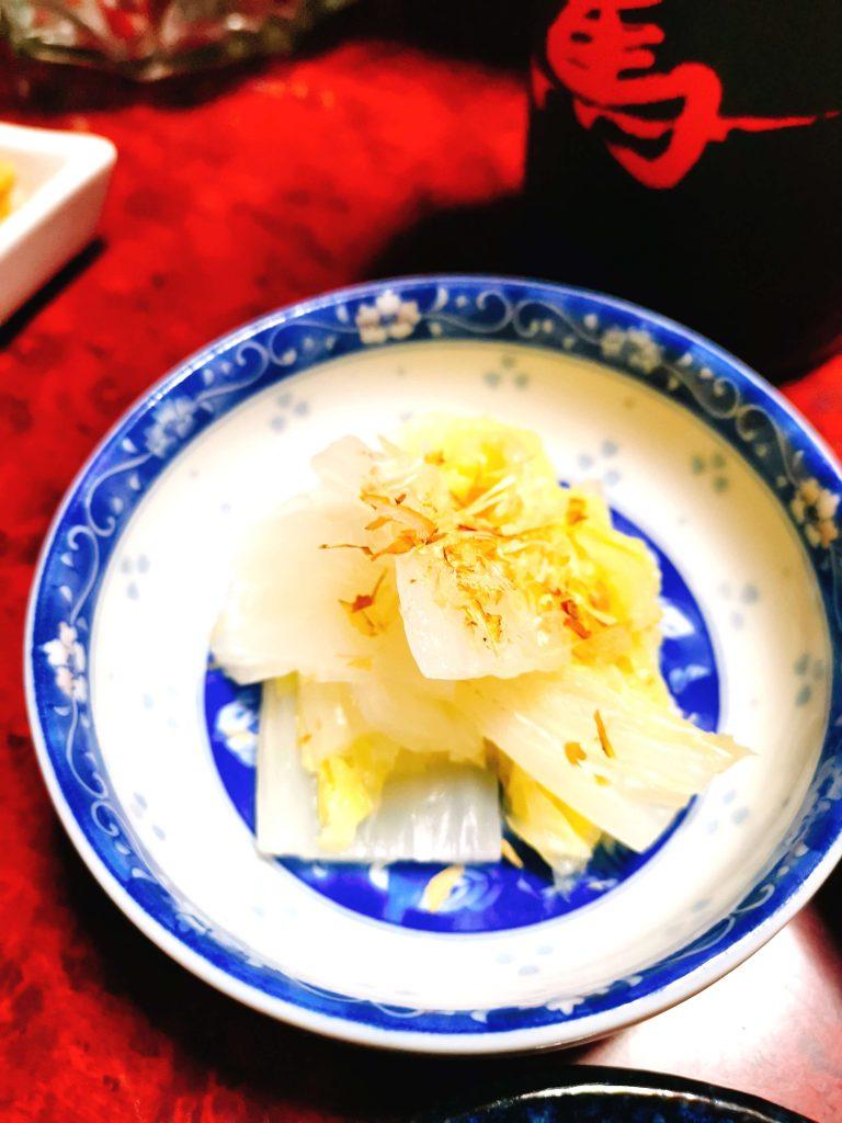 白菜おひたし