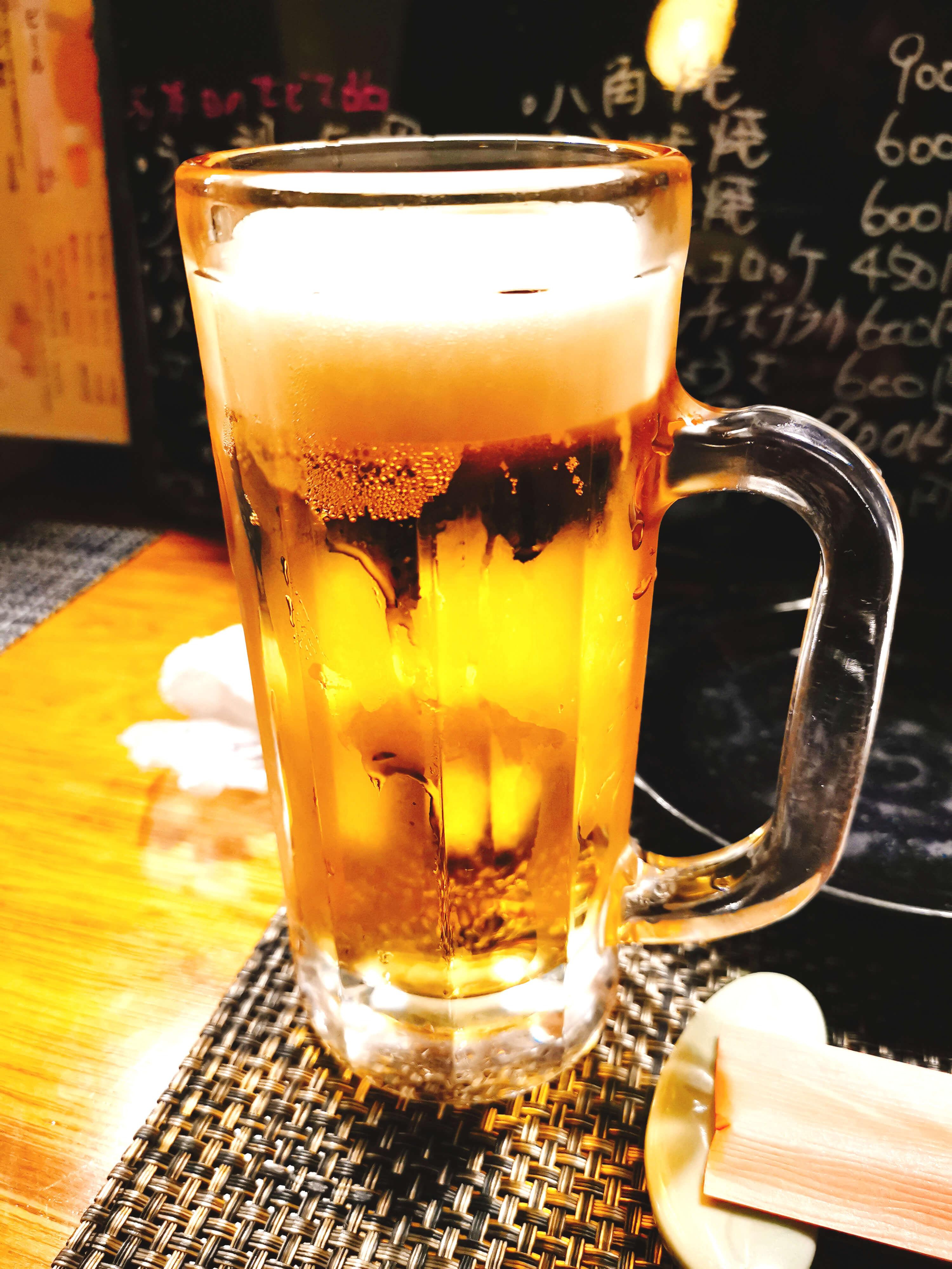 ビール確か450円?