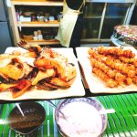 鮭カマととんび串