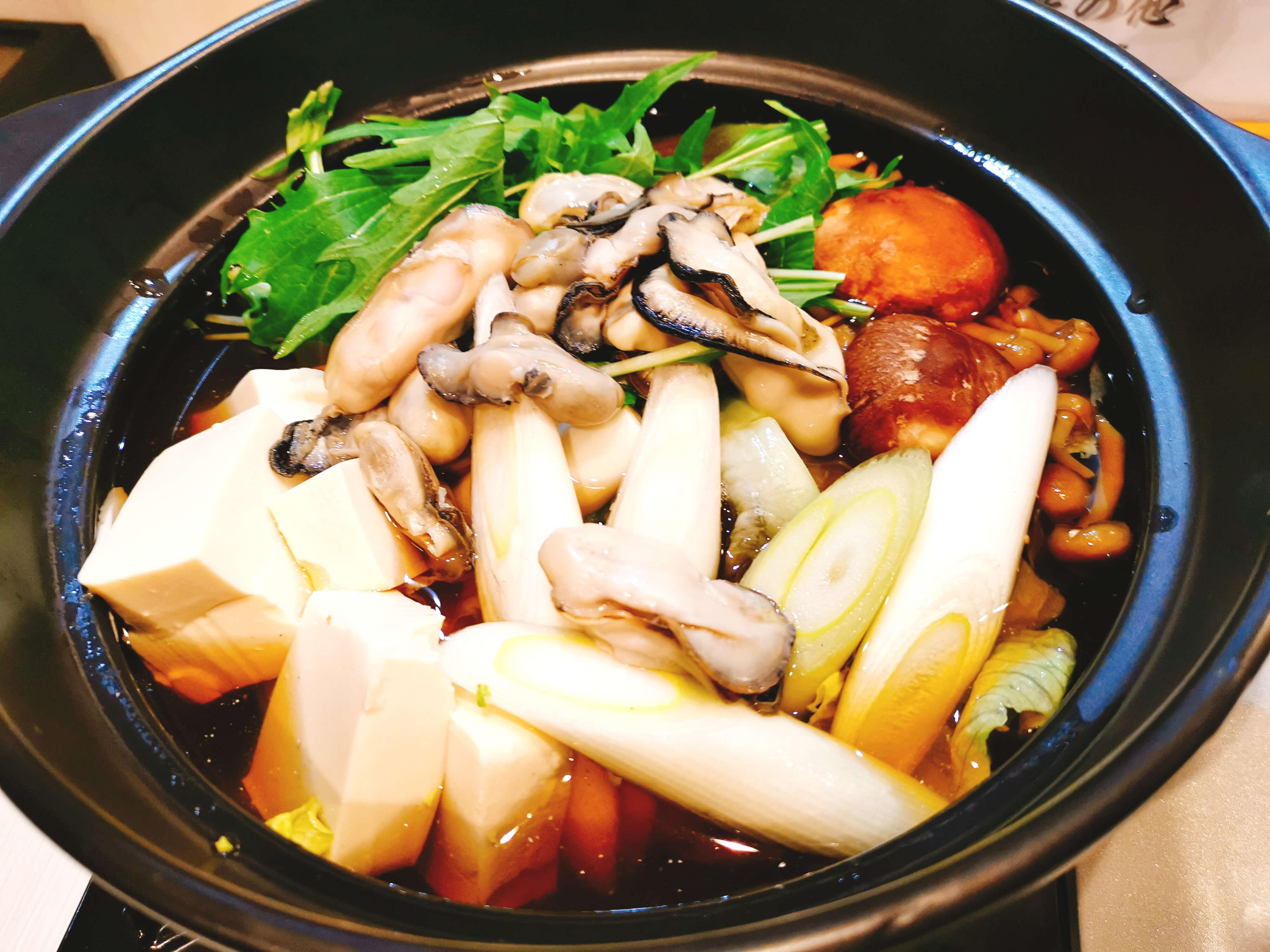 かき鍋 中 1600円