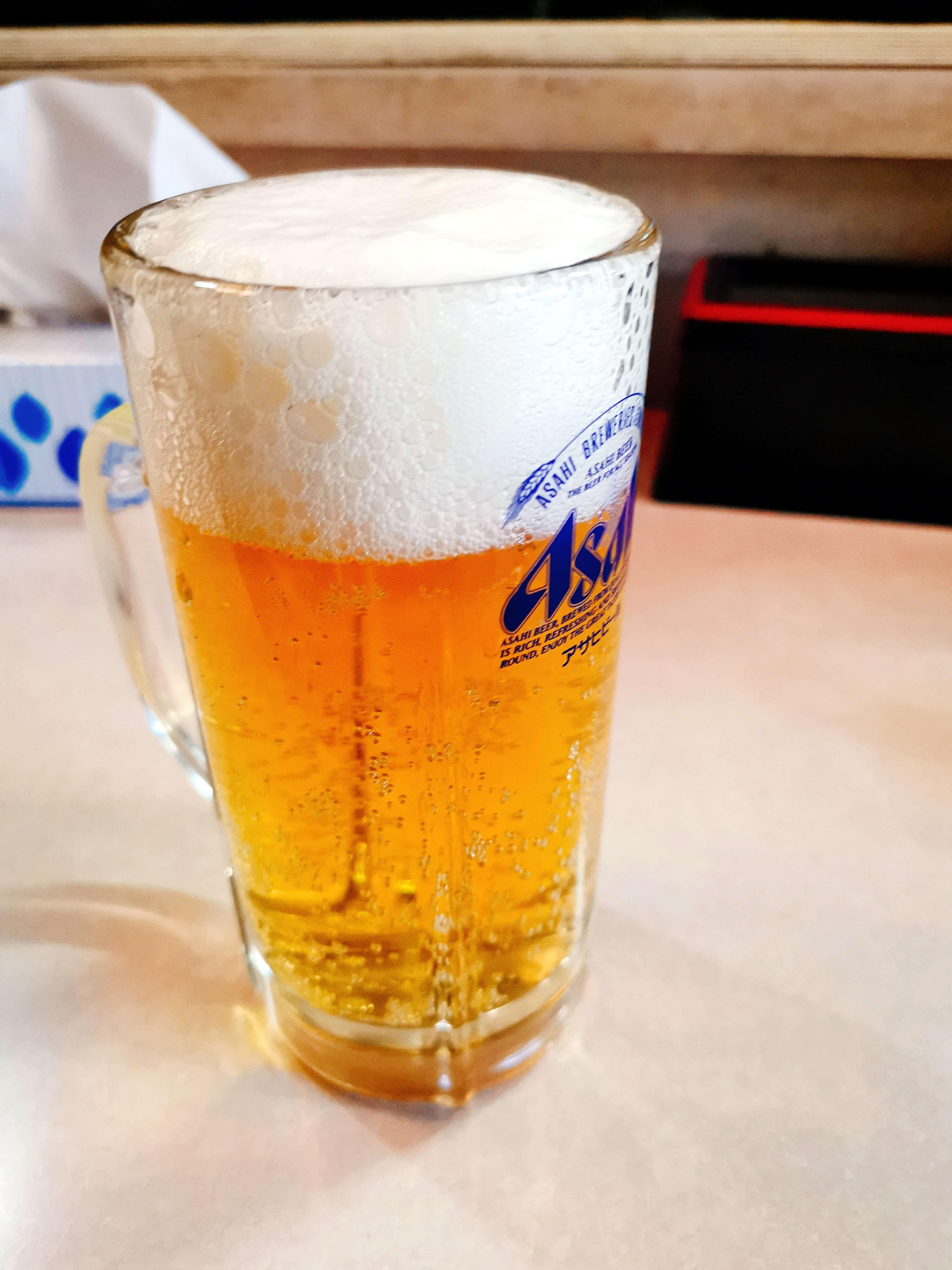 ビール450円