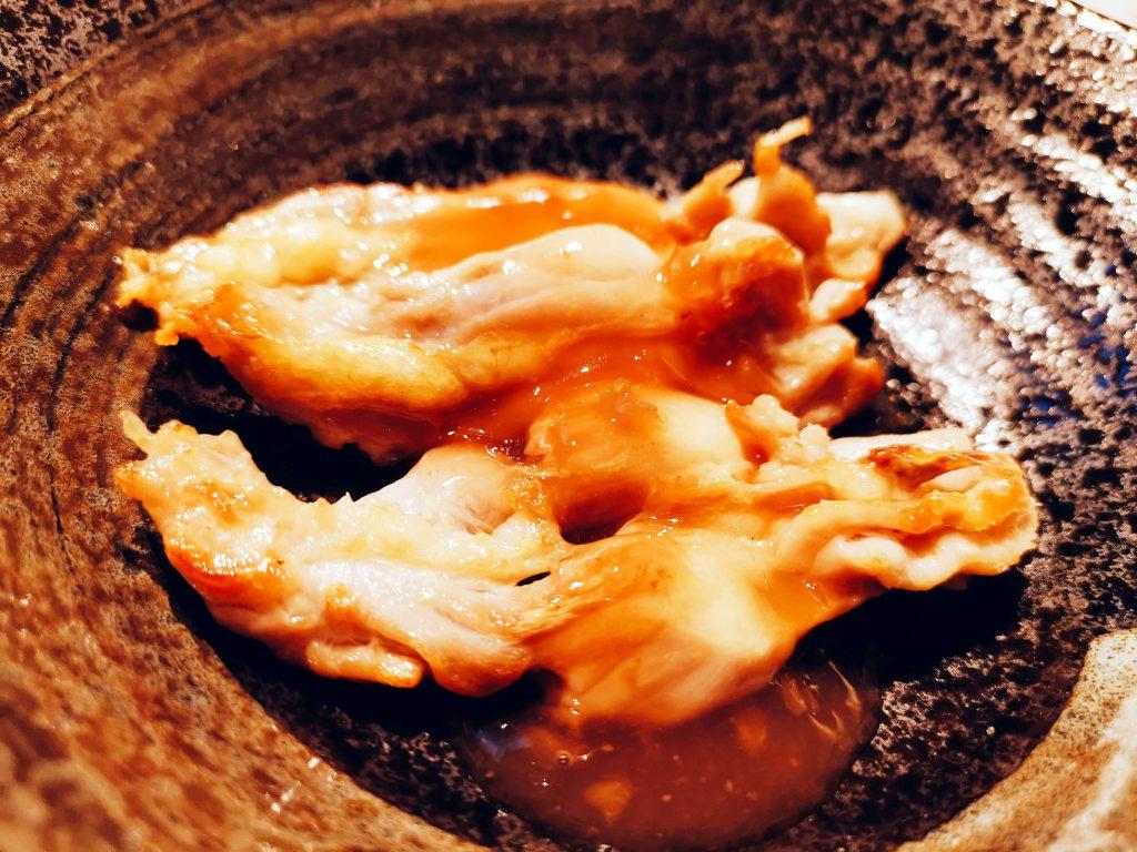 鶏小肉梅酢和え