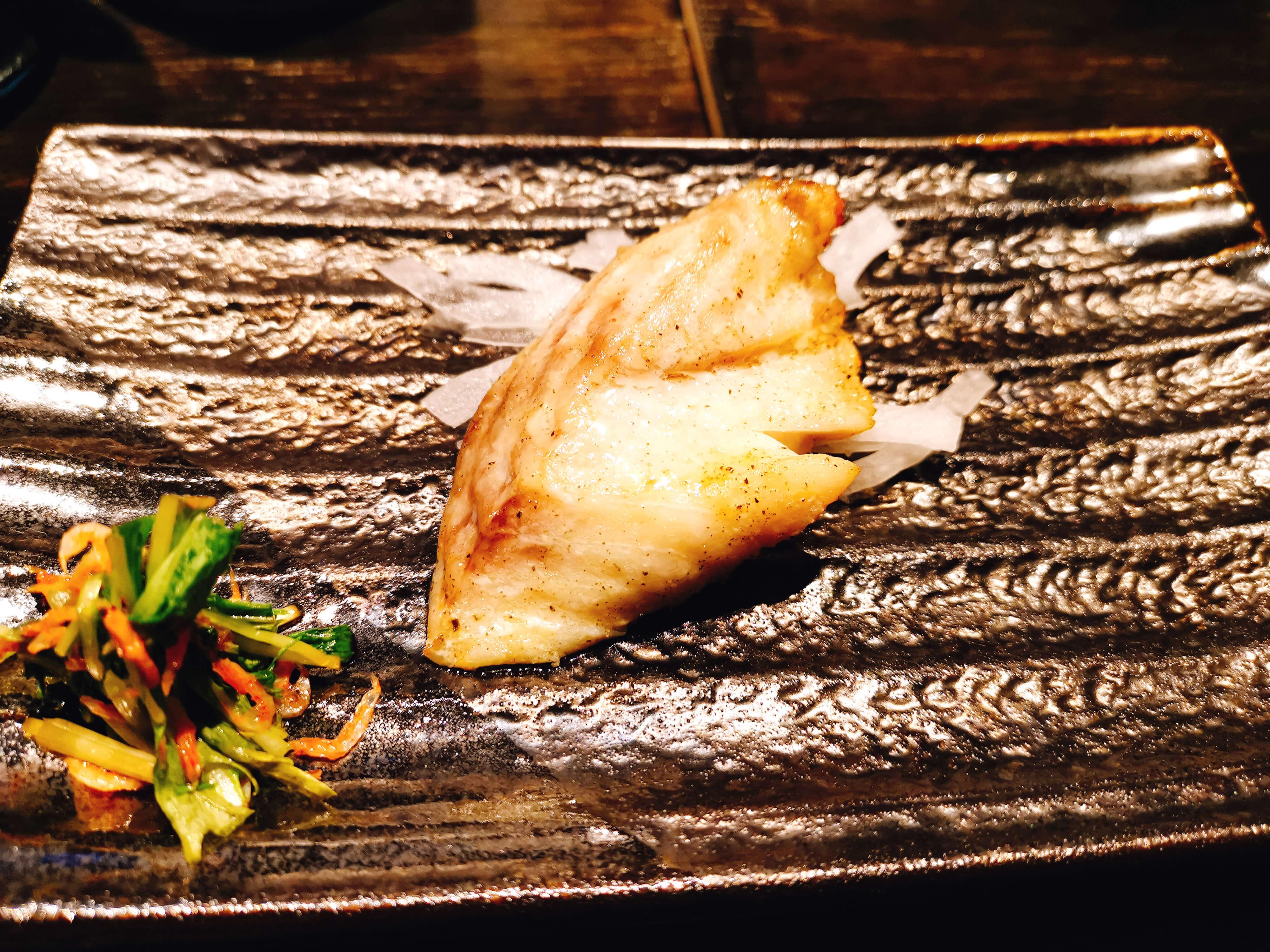 白身魚の蒸し焼き
